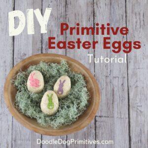 Primitive Easter Eggs Tutorial