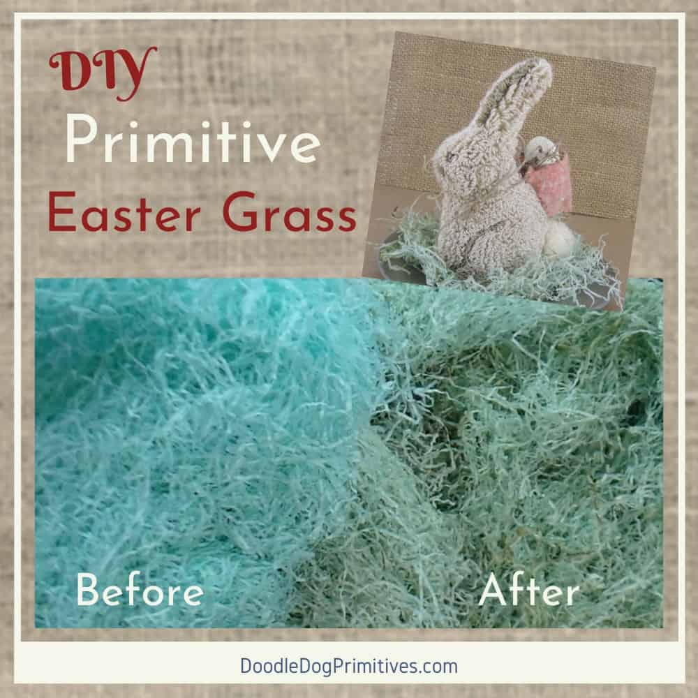 Primitive Easter Grass