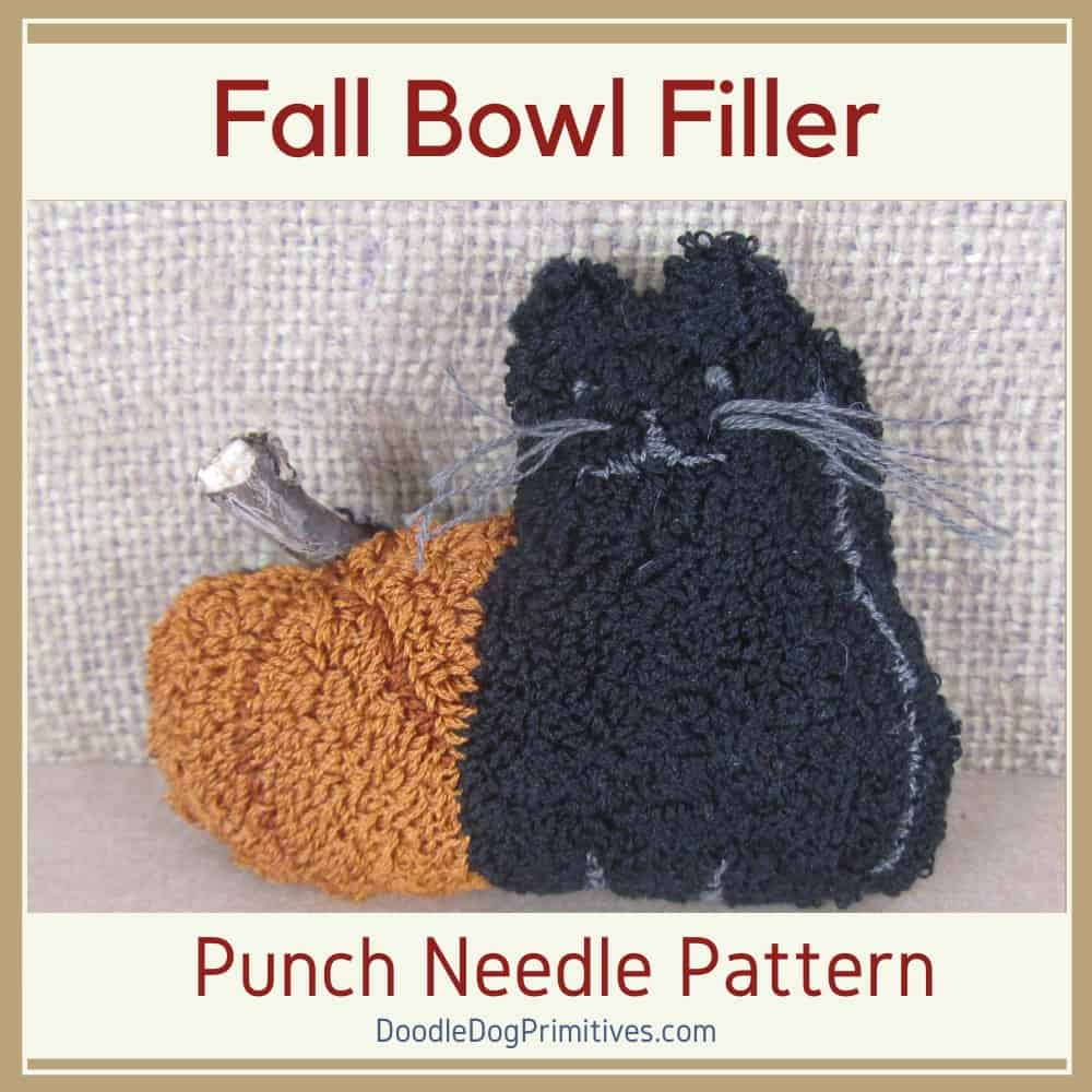 Fall Punch Needle Pattern - Boo to You