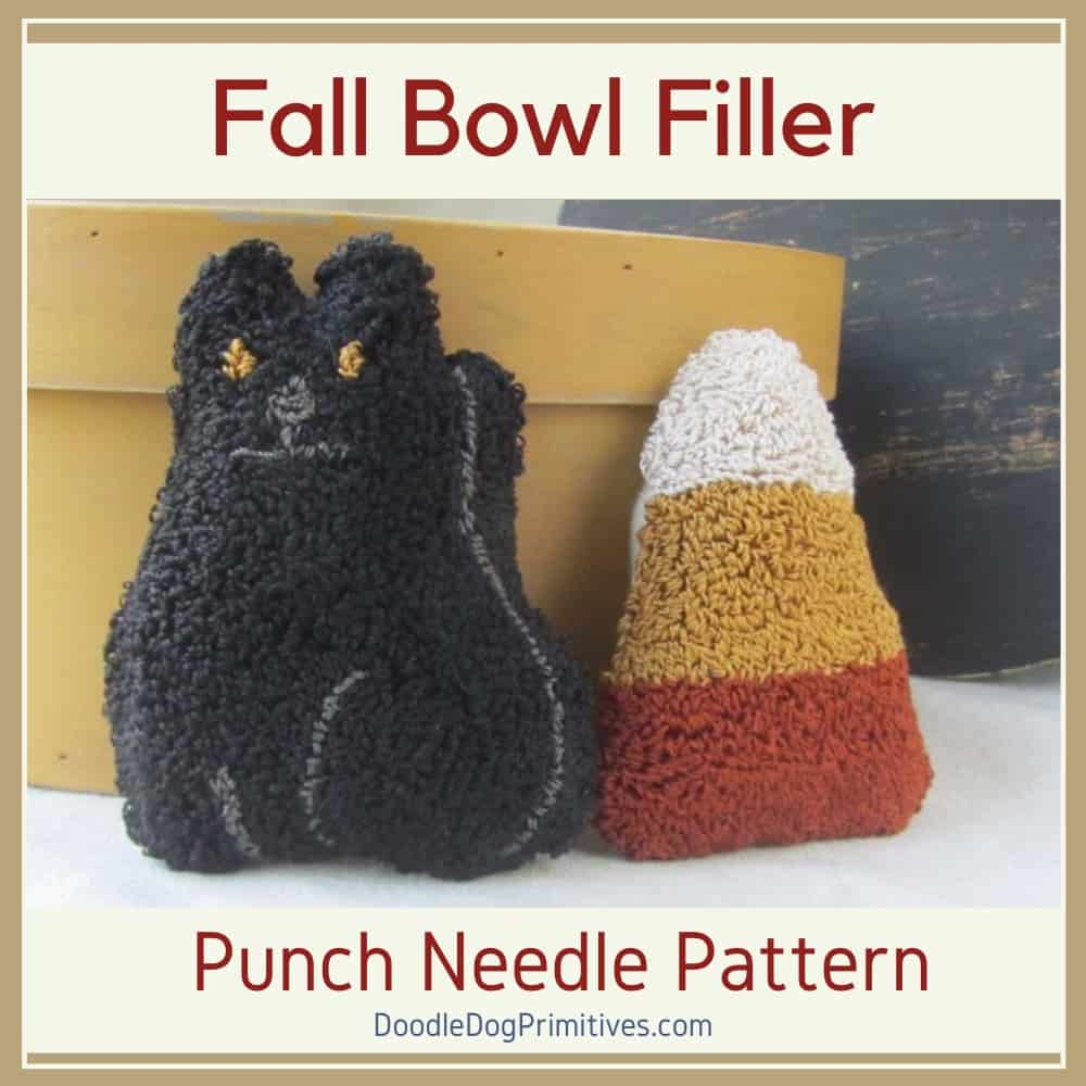 Trick or Treating for Punch Needle Patterns