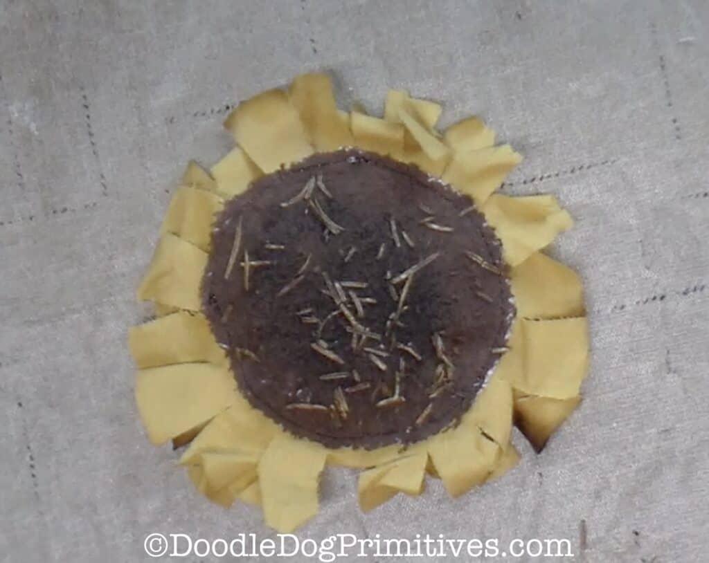 finished sunflower