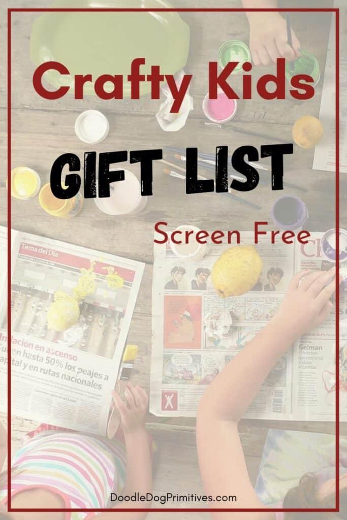 gift crafty kids