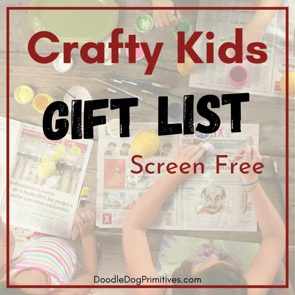 gift ideas crafty kids