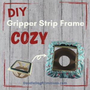 Gripper Strip Frame Cozy Cover