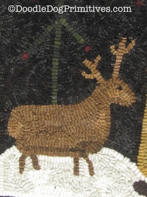 hooked reindeer