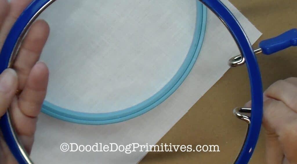 regular embroidery hoops