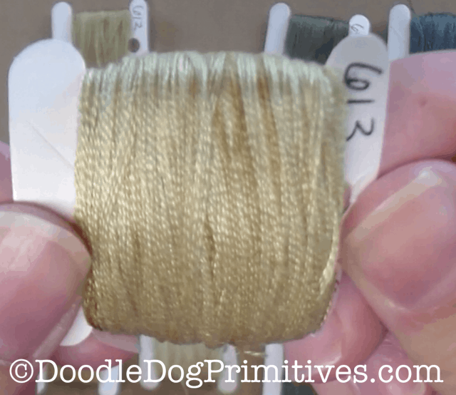 Instant Coffee Dyed Floss
