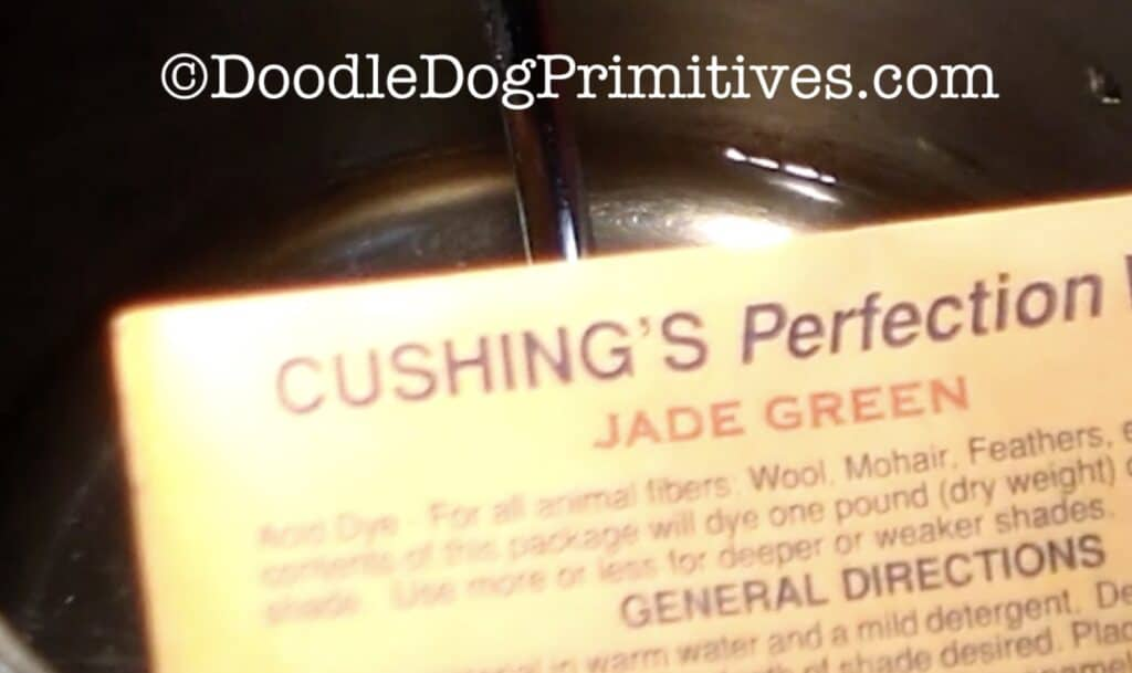 Jade Green dye