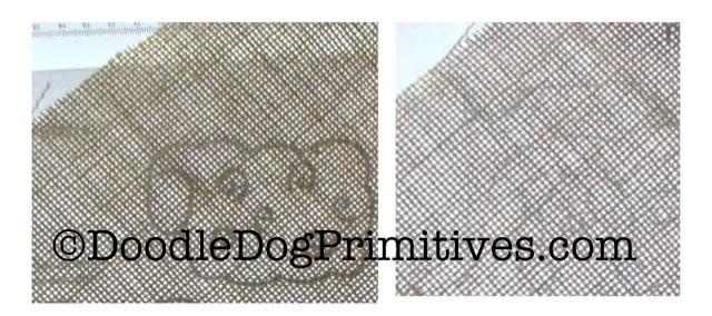 Patterns through Linen