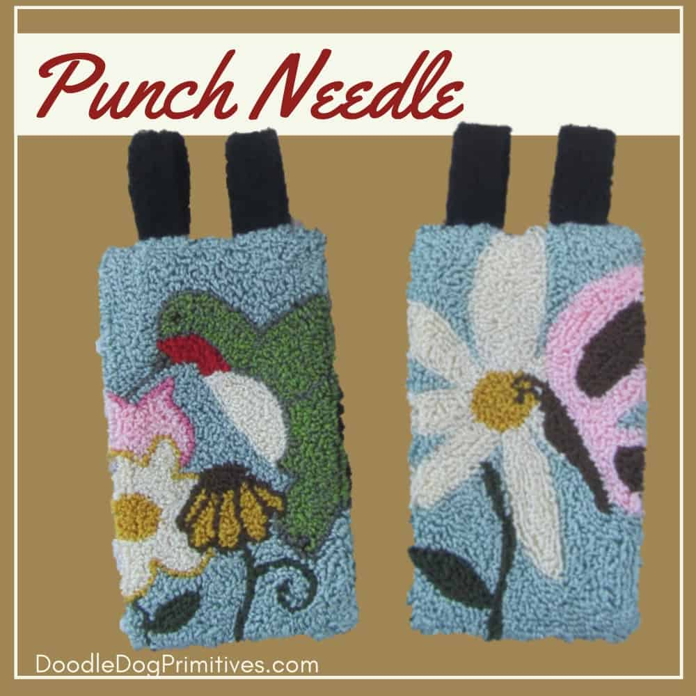 may june banners punch needle pattern