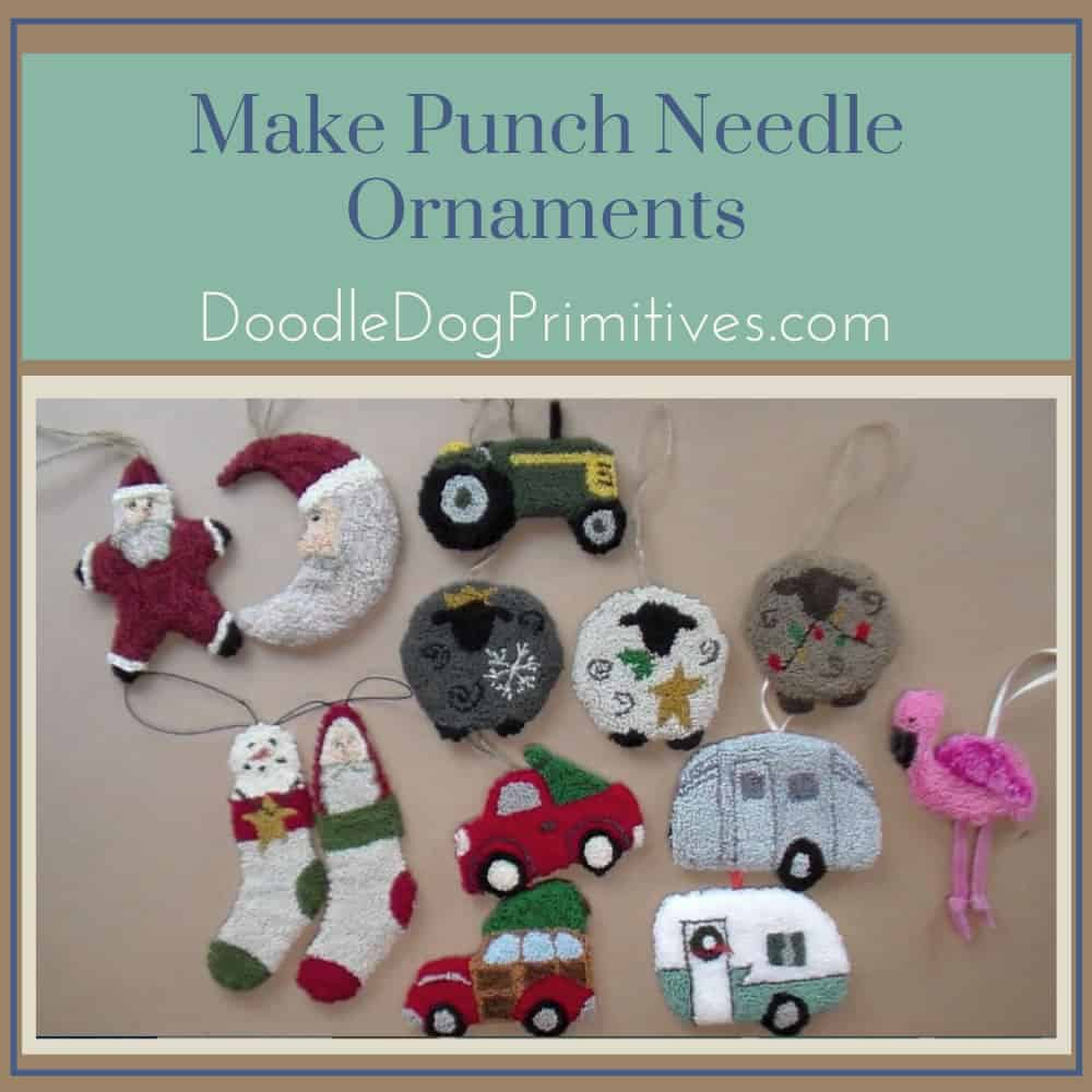 Make a Punch Needle Ornament