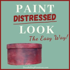 Paint a Distressed Look