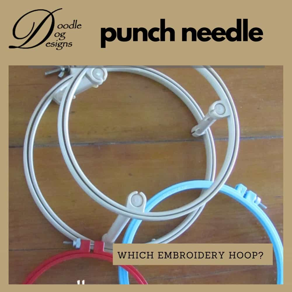 which embroidery hoop