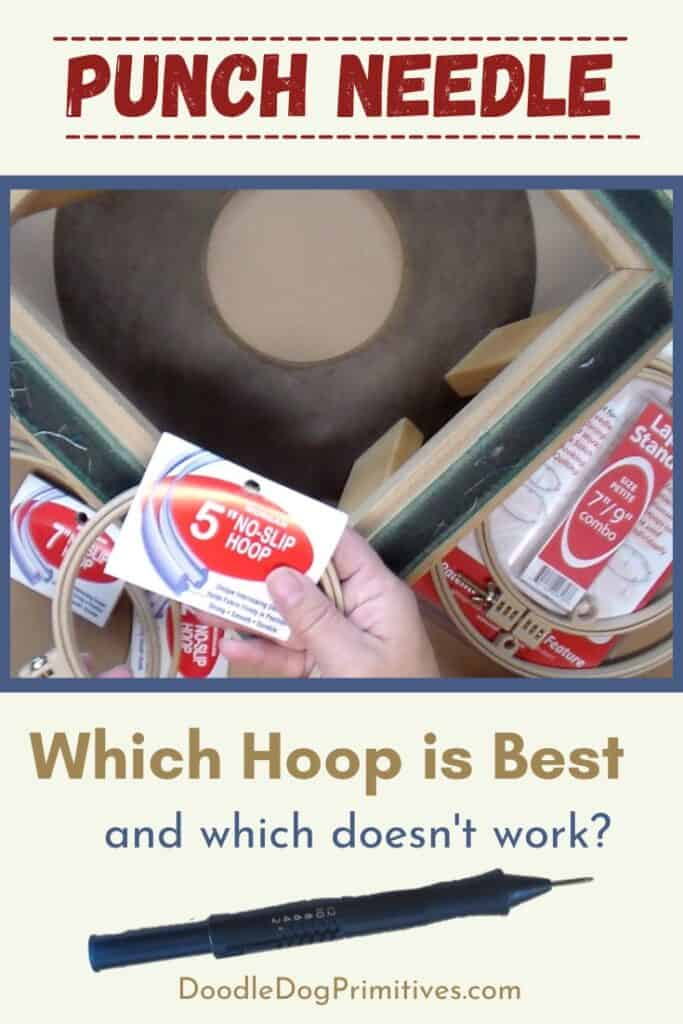 Which Hoop is Best for Punch Needle?