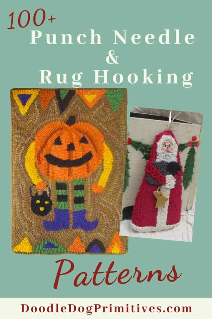 Punch Needle & Rug Hooking Patterns