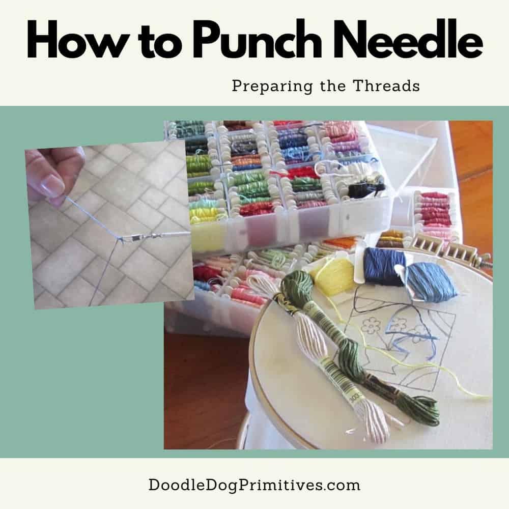 prepare the threads