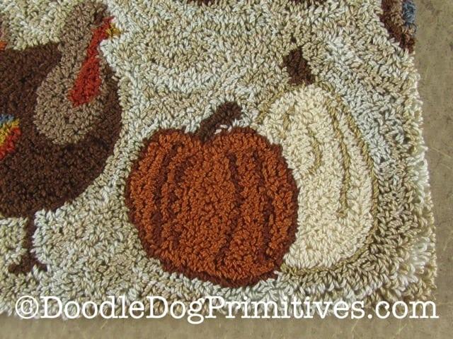 Primitive punched pumpkins
