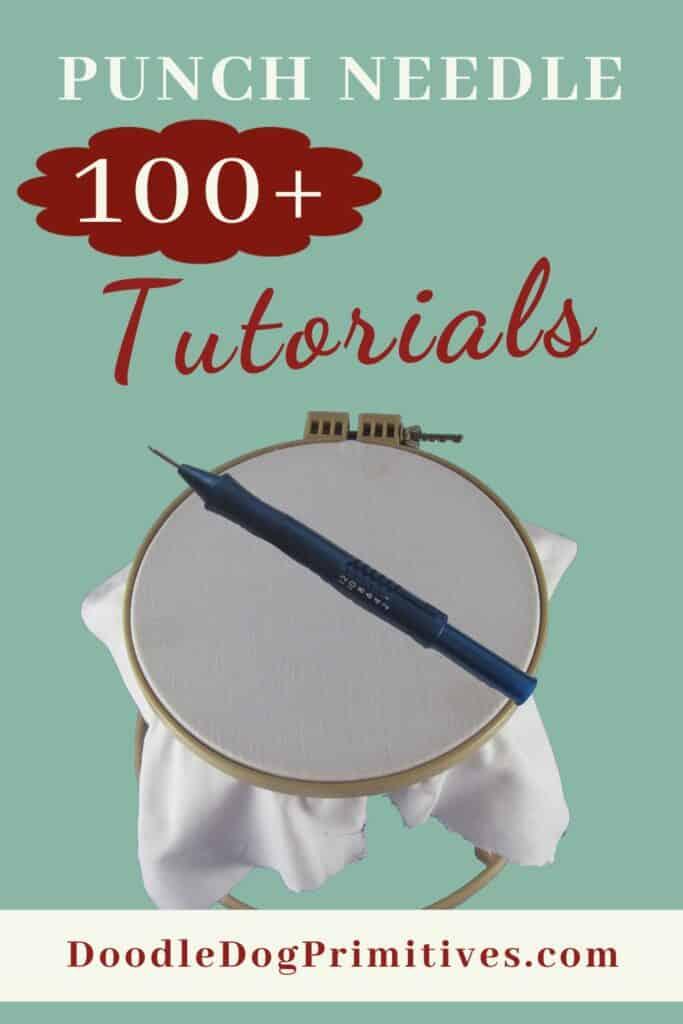 punch needle tutorials