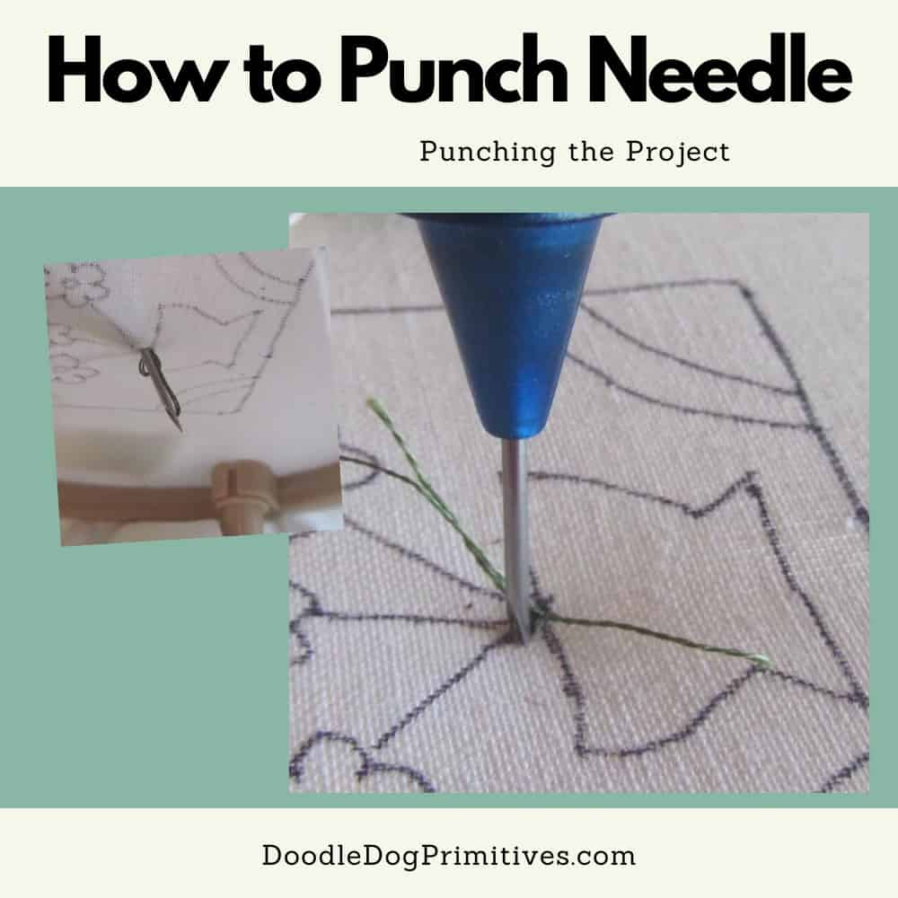 punching the project