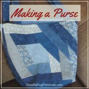 making a purse