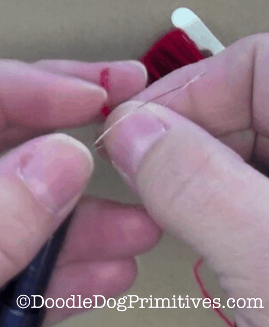 Put through thread