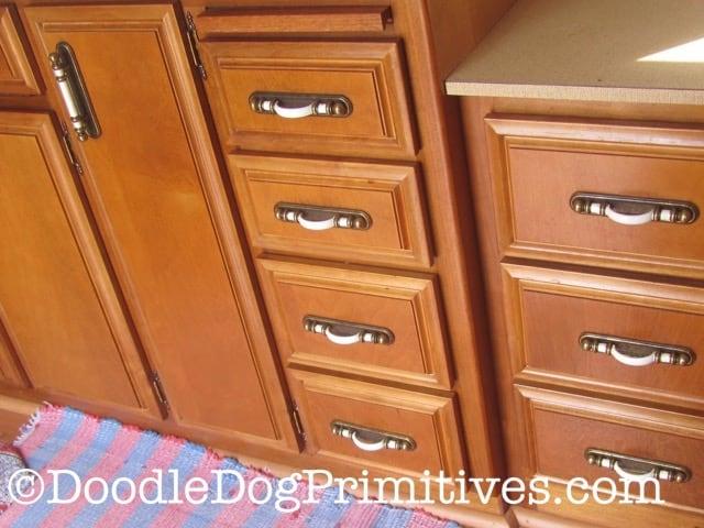restored cabinets