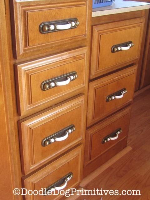 restored drawers