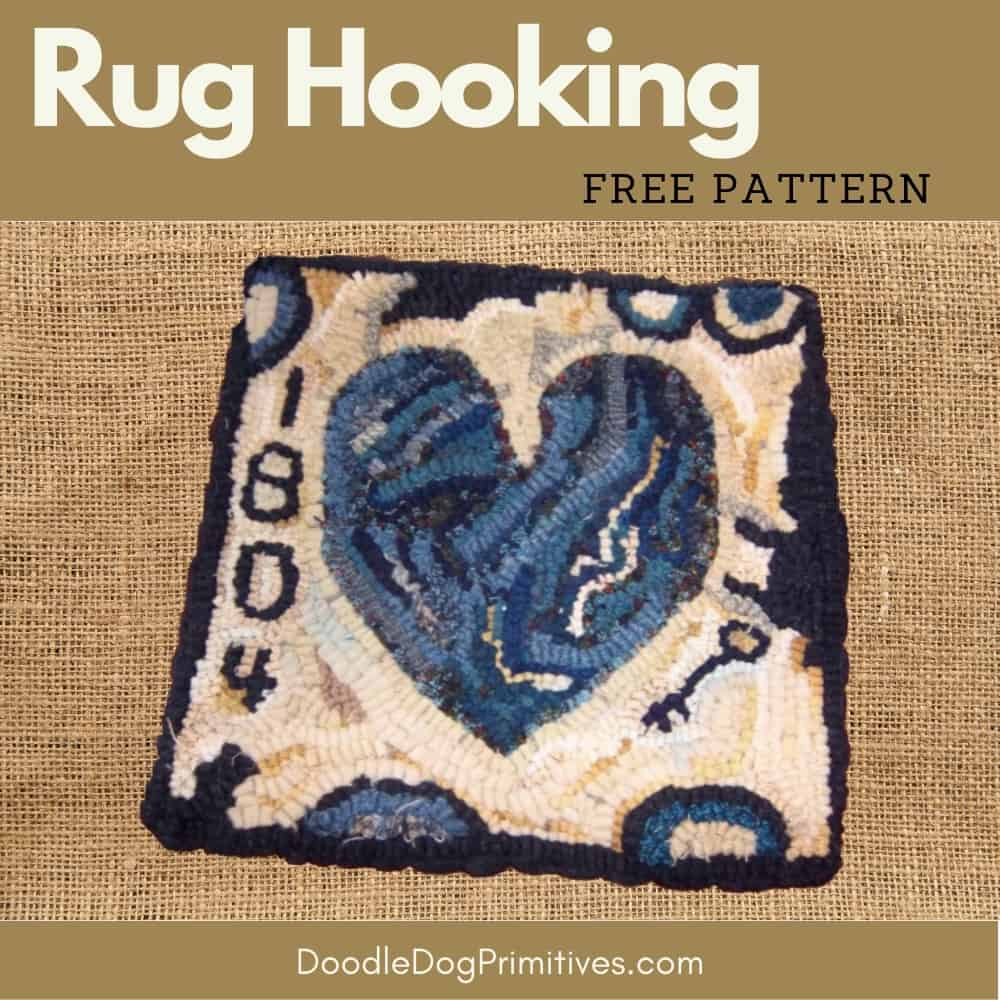 rug hooking free pattern