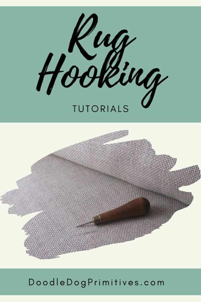 rug hooking tutorials