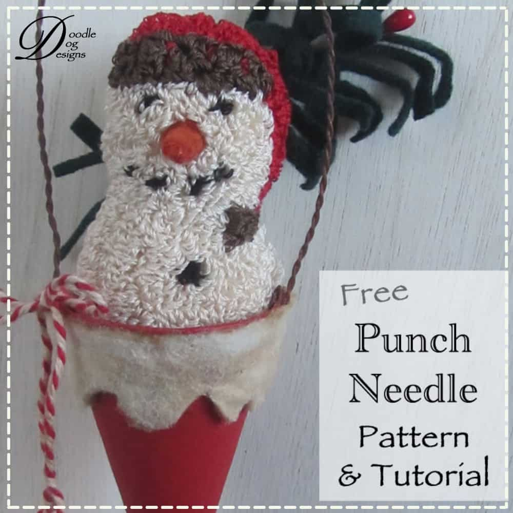 Punch Needle Pattern & Tutorial