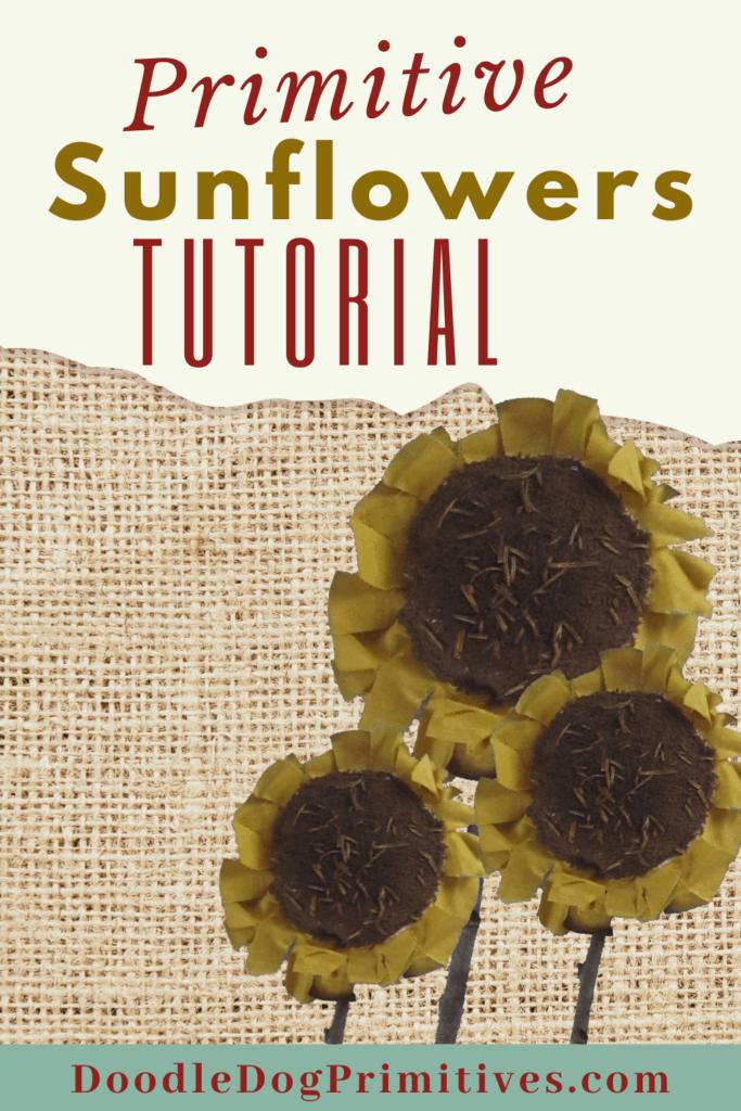 sunflowers tutorial