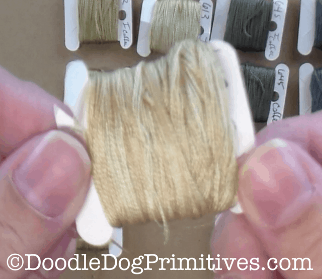 Tea Dyed Floss