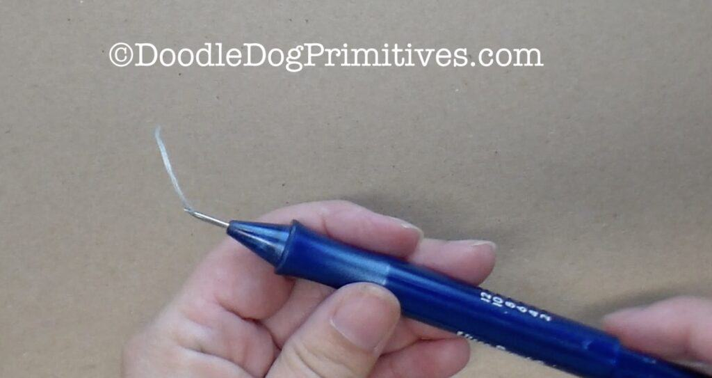 threaded punch needle