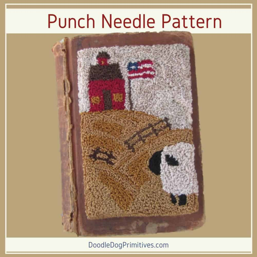 waiting for mary punch needle pattern
