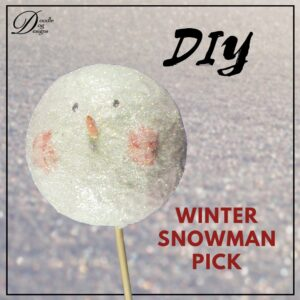 Snowman Pick Tutorial