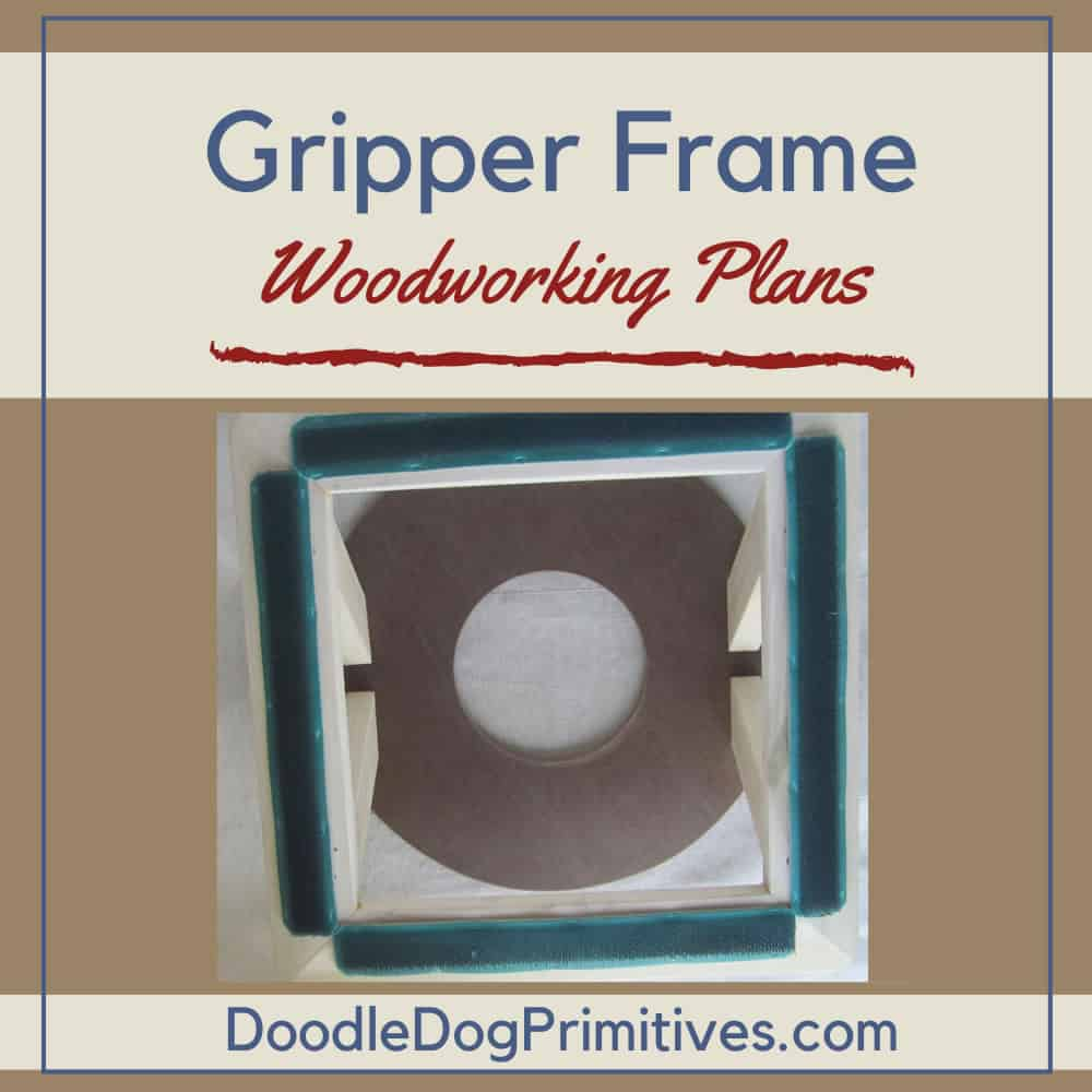 How to Make a Punch Needle Gripper Strip Frame